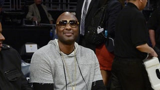 Lamar Odom Attends First L.A. Lakers Game Since Hospitalization: Pics