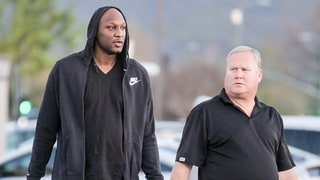 Lamar Odom Spotted Grocery Shopping One Week After First Public Appearance in NYC: Photo