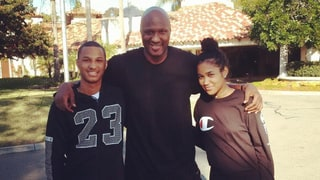Lamar Odom Posts Photo With Kids After Entering Rehab