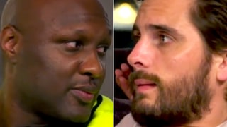 Lamar Odom Tells Scott Disick of Hospitalization: 'I Can Remember Being Scared Half to Death'
