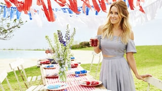 Lauren Conrad Shows Us How to Make a Simple 4th of July Cocktail