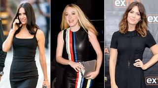 A Tale of Three Little Black Dresses, as Told by Dakota Fanning, Mandy Moore and Jennifer Connelly