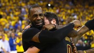 LeBron James Cries as Cleveland Cavaliers Win NBA Finals: See How Celebs Reacted