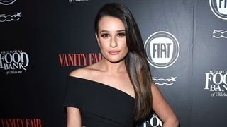 Lea Michele Shows Off Her Fierce Abs on the Red Carpet After Split