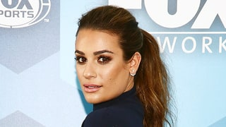 You Only Need Two Products to Re-create Lea Michele's Beach-Wave Ponytail