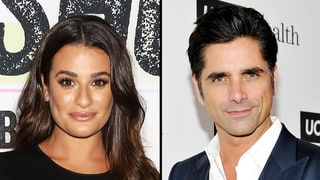 Lea Michele Gushes Over Getting to Kiss John Stamos on 'Scream Queens'