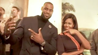 LeBron James and the Cleveland Cavaliers Enlist Michelle Obama to Dominate the Mannequin Challenge