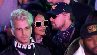 Rihanna and Leonardo DiCaprio Spotted Together Again at Coachella's Neon Carnival: Photo