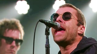 Watch Liam Gallagher's Brash 'Wall of Glass' on 'Corden'