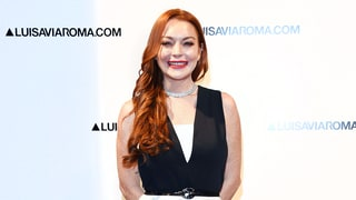 Lindsay Lohan Hits Her First Red Carpet in Seven Months