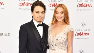 Lindsay Lohan and Fiance Egor Tarabasov Make Their Red Carpet Debut