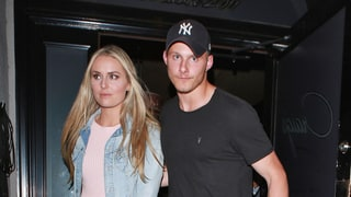 Lindsey Vonn and Hunger Games' Alexander Ludwig Spotted on Dinner Date: Photo