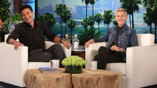 Mario Lopez Hints to Ellen He Might Be Michael Strahan's Replacement
