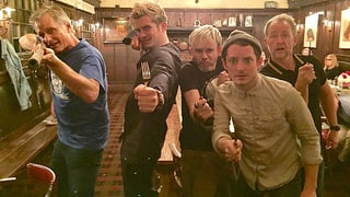 Orlando Bloom, Elijah Wood, 'Lord of the Rings' Cast Have a Glorious Reunion: Photos
