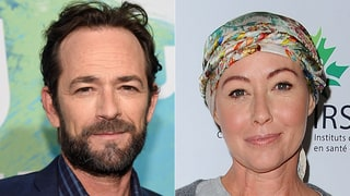 Luke Perry Pays Tribute to Shannen Doherty at 'Beverly Hills, 90210' Reunion at RewindCon