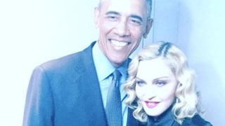 Madonna Meets President Obama at Last! See the Photos