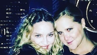 You Won't Believe What Madonna Said About Voting for Hillary Clinton at Amy Schumer's NYC Show