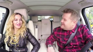 Madonna Twerks in Carpool Karaoke With James Corden— Watch a Sneak Peek