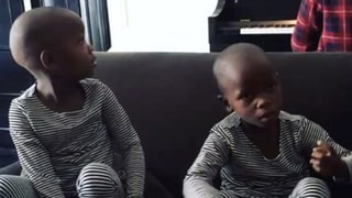 Madonna Shares Cute Video of Newly Adopted Twins Singing 'Twinkle, Twinkle, Little Star'