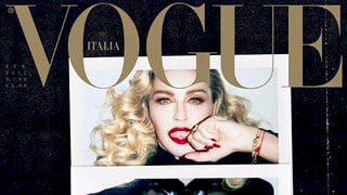 Madonna Bares Nipples on 'Vogue Italia,' Hangs With Kylie Jenner and Tyga