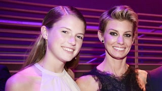 Faith Hill and Daughter Maggie Rock Out to Taylor Swift During College Road Trip