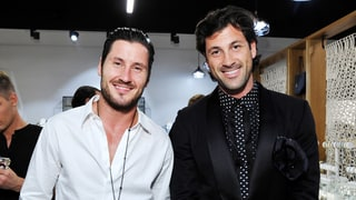 Dancing With the Stars' Val and Maks Chmerkovskiy Play Strip Trivia With Us — Watch the Hunky Video!