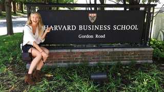 Maria Sharapova Enrolls in Harvard Business School Courses After Tennis Ban