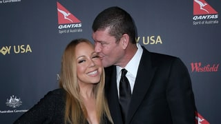 Mariah Carey, James Packer Make First Appearance Since Engagement Announced: See the Ring!