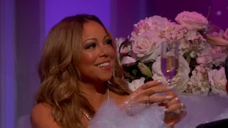 Mariah Carey Jumps in the Bath With Jimmy Kimmel: Watch!