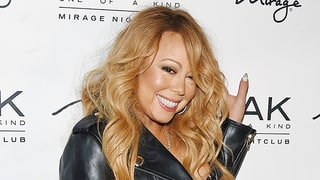 Mariah Carey Wears a Sexy Corset, Fishnets and Garter Belt Outside for an After-Hours DJ Gig