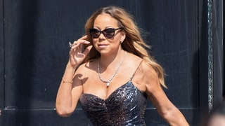 Mariah Carey Wears Two Evening Gowns in Broad Daylight