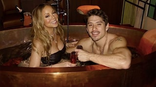 Mariah Carey Shares Sexy Valentine's Day Snap in a Hot Tub With Boyfriend Bryan Tanaka
