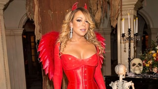 Mariah Carey Stuns in Latex Devil Costume at Halloween Party With Ex Nick Cannon and Kids