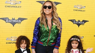 Mariah Carey Brings Twins Moroccan and Monroe to 'Lego Batman Movie' Premiere