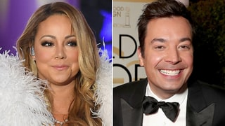 Jimmy Fallon Pokes Fun at Mariah Carey's NYE Performance at Golden Globes 2017