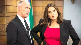 'Law & Order: SVU' Star Mariska Hargitay Dishes on Benson and Tucker's Romance: 'He's So Masculine and So Strong'