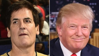 Mark Cuban Shades Donald Trump With No. 46 Jersey at NBA All-Star Celebrity Game