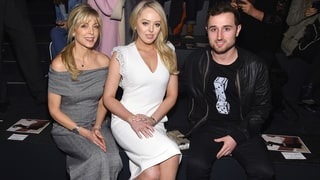 Tiffany Trump Sits Front Row at NYFW Show With Mom Marla Maples and Boyfriend