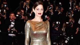 All the Details You Can't See on Marion Cotillard's Gold Dress on the Cannes 2016 Red Carpet