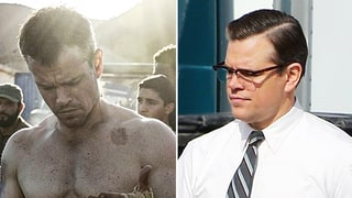 Matt Damon Transforms From Hunky Jason Bourne to Dumpy Dad on 'Suburbicon' Set: Photos