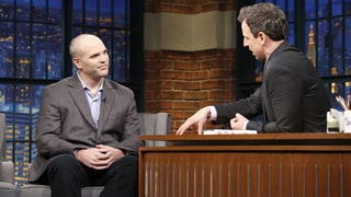Watch Matt Taibbi Debate Comedy, Horror of Donald Trump on 'Seth Meyers'