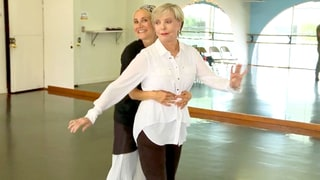 Maureen McCormick Dances With TV Mom Florence Henderson in 'Dancing With the Stars' Sneak Peek