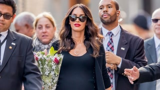 Megan Fox Outfits Her Baby Bump in a Sexy, All-Black Look