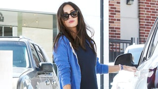 Pregnant Megan Fox Flaunts Baby Bump on Frozen Yogurt Outing After Big Announcement