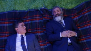 Mel Gibson Tells Stephen Colbert the Advice He'd Give to His Younger Self: 'Shut the F--k Up'