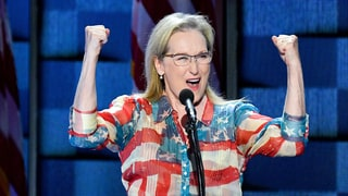 Meryl Streep Praises Hillary Clinton in Impassioned DNC Speech: She 'Will Be Our First Woman President'