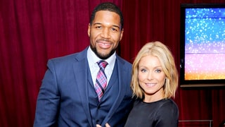 Kelly Ripa, Michael Strahan Hold Hands on 'Live' After His Early Departure Announcement