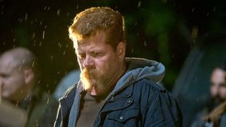 The Walking Dead's Michael Cudlitz Reveals 10 New Secrets About Abraham's Horrific Death (That Peace Sign!)