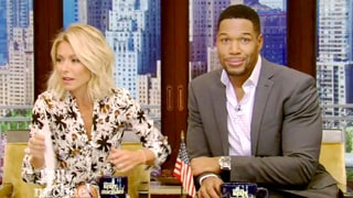 Kelly Ripa Brings Up Michael Strahan's Divorces on 'Live' and Gets a Totally Baffled Reaction