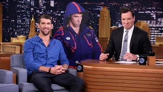 Michael Phelps Jokes About Angry Face Meme, Plays Egg Russian Roulette With Jimmy Fallon